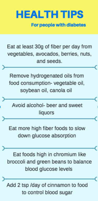 diabetes health tips